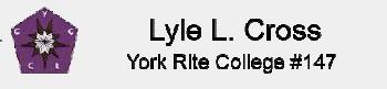 Lyle L. Cross No.147,Dallas TX