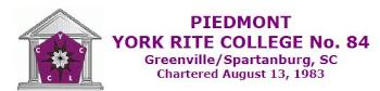 Piedmont #84, Greenville/Spartanburg, SC