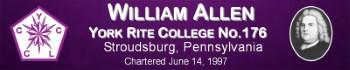 William Allen No.176, PA